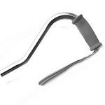 Bariatric Offset Cane - Silver