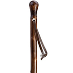 Natural Chestnut Wood Walking Stick