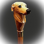 Greyhound Walking  Stick