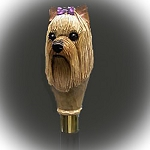 Yorkshire Terrier Walking  Stick