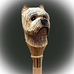 Cairn Terrier Walking Stick