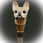 French Bulldog Walking Stick