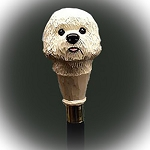 Bishon Frise Walking Stick