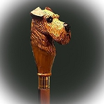 Irish Terrier Walking Stick