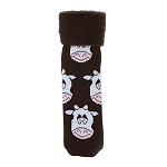 The Original Comfort Bed Socks - Cow