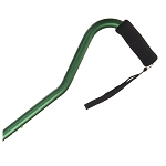 Offset Handle Aluminum Cane - Mint