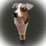Australian Shepherd  Walking Stick