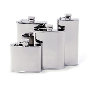 Mirror Polish Stainless Steel Flask