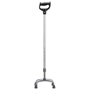 Orthopedic Handle Adjustable Cane - Small Base
