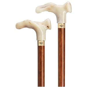 Marble Acrylic Mini Palm Grip Comfort Handle Cane