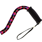 Offset Handle Aluminum Cane - Red Hat