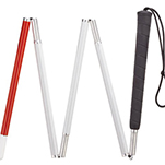 Visually Impaired Five Section Folding Cane - 48