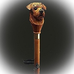 Norfolk Terrier Hiking Stick