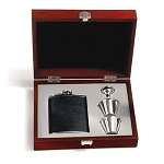 Presentation Flask Set - Black